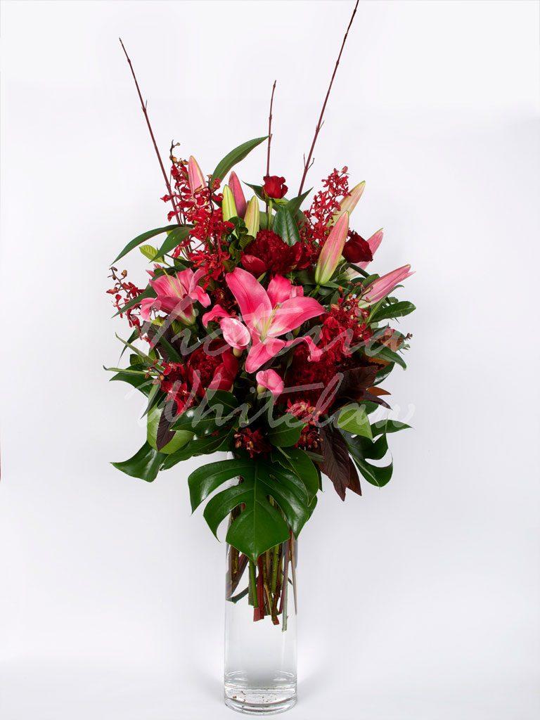 Long Stemmed Vase Monochromatic