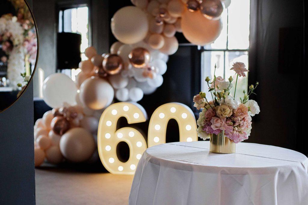 Christine S 60th Birthday Party Victoria Whitelaw Beautiful Flowers